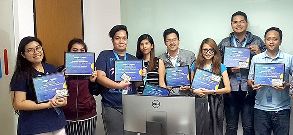 Ten Top Performers Attain Leadership Certification