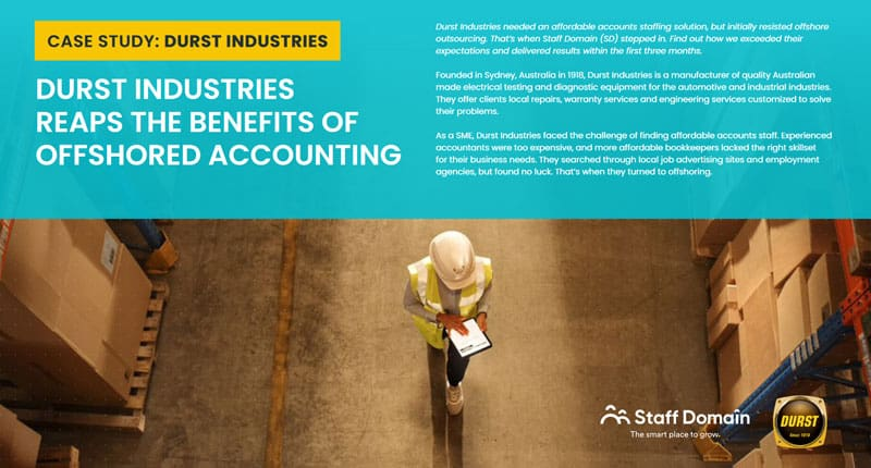 Case Study: Durst Industries Reaps the Benefits of Offshored Accounting